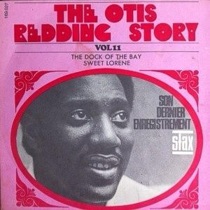 An Otis Redding album sleeve titled 'The Otis Redding Story'
