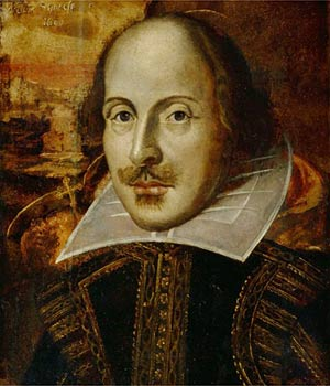 A painting/portrait of William Shakespeare
