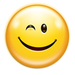 Image of winking smiley face