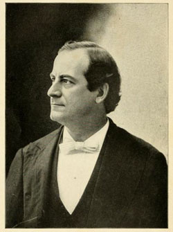 A photograph of Nebraska politician and populist William Jennings Bryan