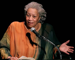 "Toni Morrison author of ""Song of Solomon"""