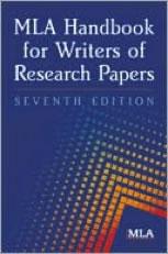 Image of MLA Handbook.