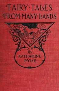 "A photograph of a book cover entitled ""Fairy Tales from Many Lands."""