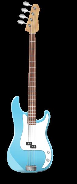 An image of an electric bass guitar
