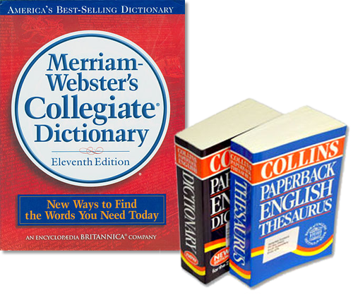 Reference Materials (e g , dictionaries, thesauri, glossaries