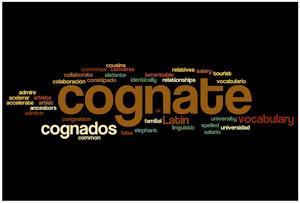 Wordle: Cognates