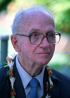 Photo of author James Michener