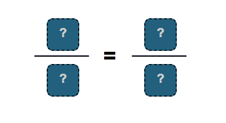 Blank fraction equality